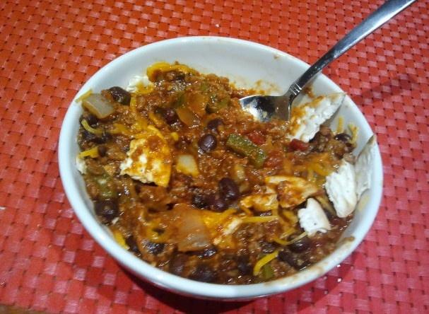 Simple Vegetarian Chili http://vegweb.com/recipes/simple-vegetarian ...