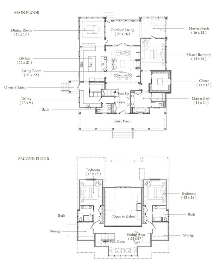 Palmetto Bluff Floor Plan For The Home Pinterest
