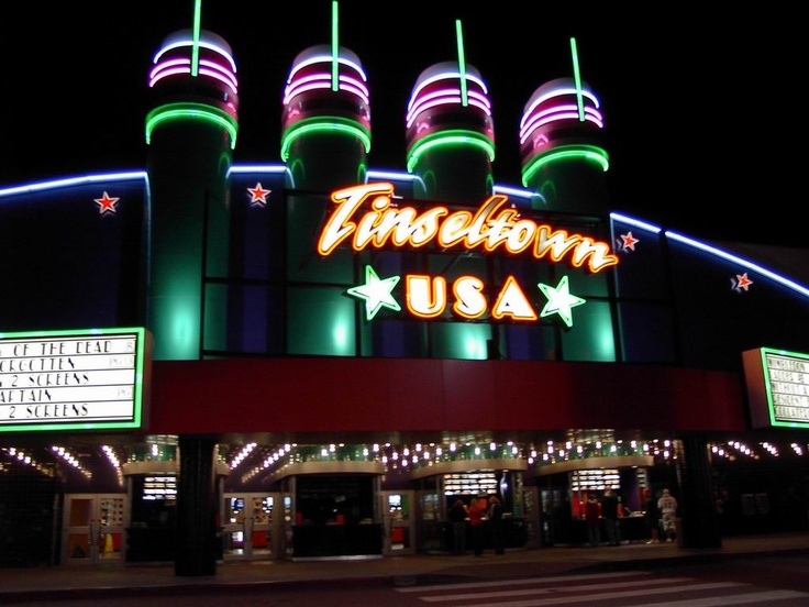 tinseltown movie theatre places i like pinterest