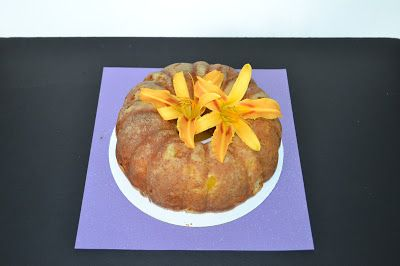 Hezzi-D's Books and Cooks: Peaches and Cream Bundt Cake #BundtAMonth