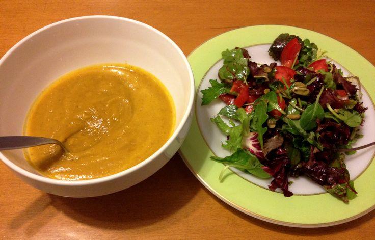 Curried Squash & Apple Soup   Soups   Pinterest