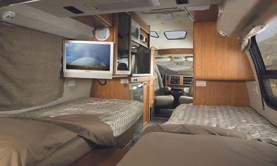 Roadtrek Twin Bed