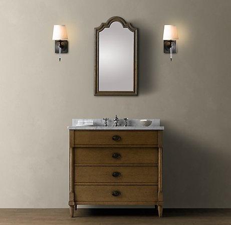 restoration hardware for bathroom master bath reno pinterest