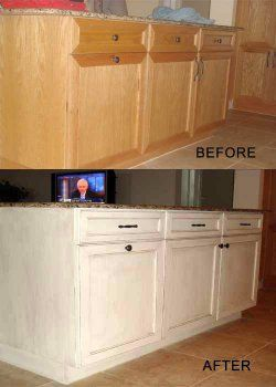 Milk paint finish on wood house design pinterest for White milk paint kitchen cabinets