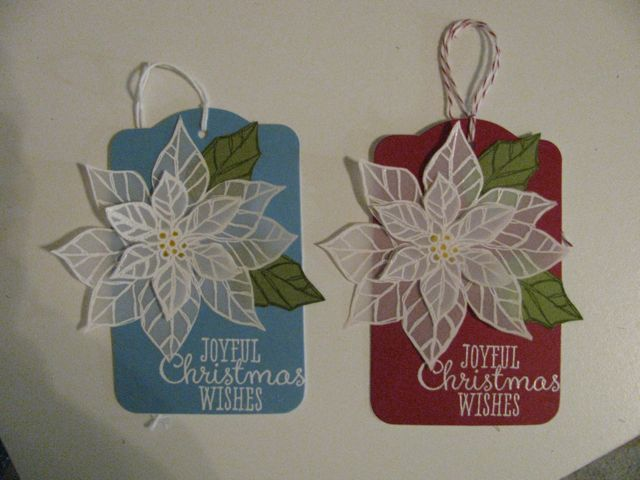Christmas Gift Tags 2014 | My Stampin' Up Cards | Pinterest
