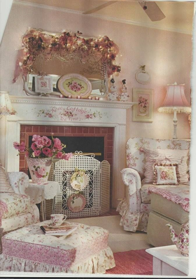 shabby chic living room rustic decor decorating ideas pinterest. Black Bedroom Furniture Sets. Home Design Ideas