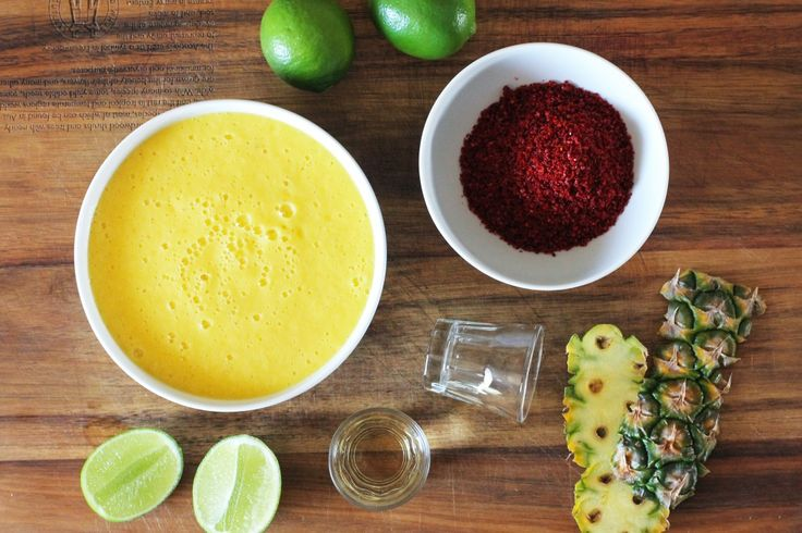 Pineapple Tequila Sorbet | Recipe