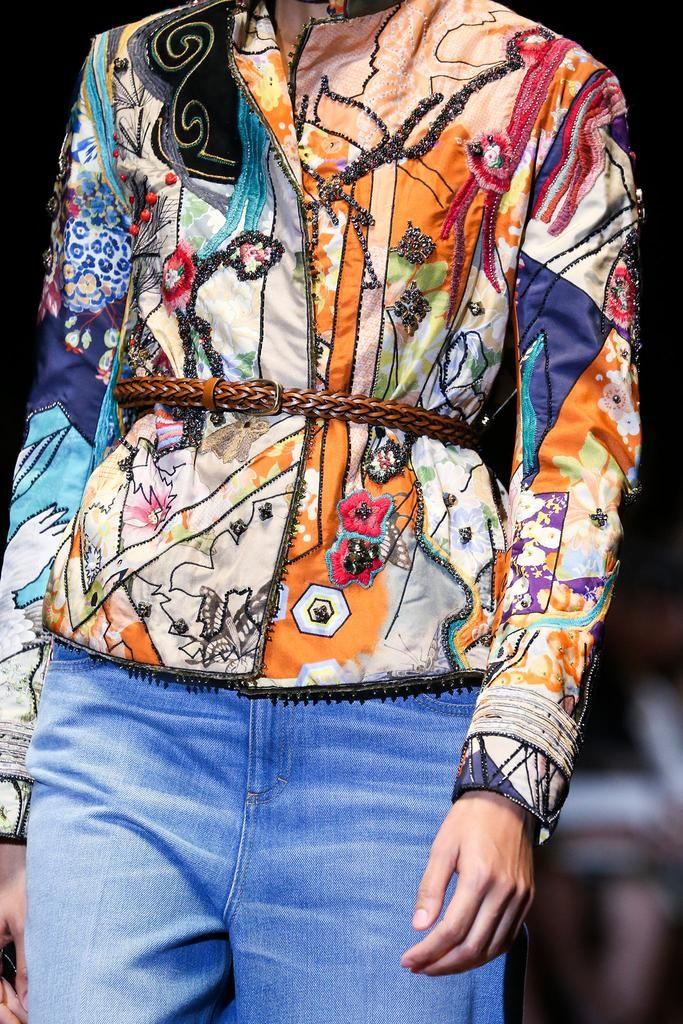 details @ Gucci Spring 2015