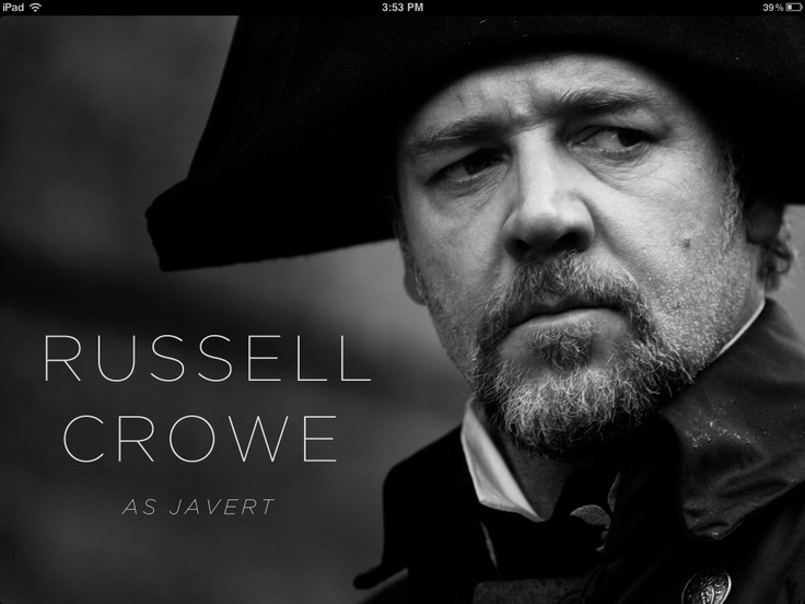 Russell crowe les miserables poster - photo#20