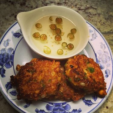 Thai Corn Fritters (Tod Man Khao Pod), a recipe on Food52 - this ...