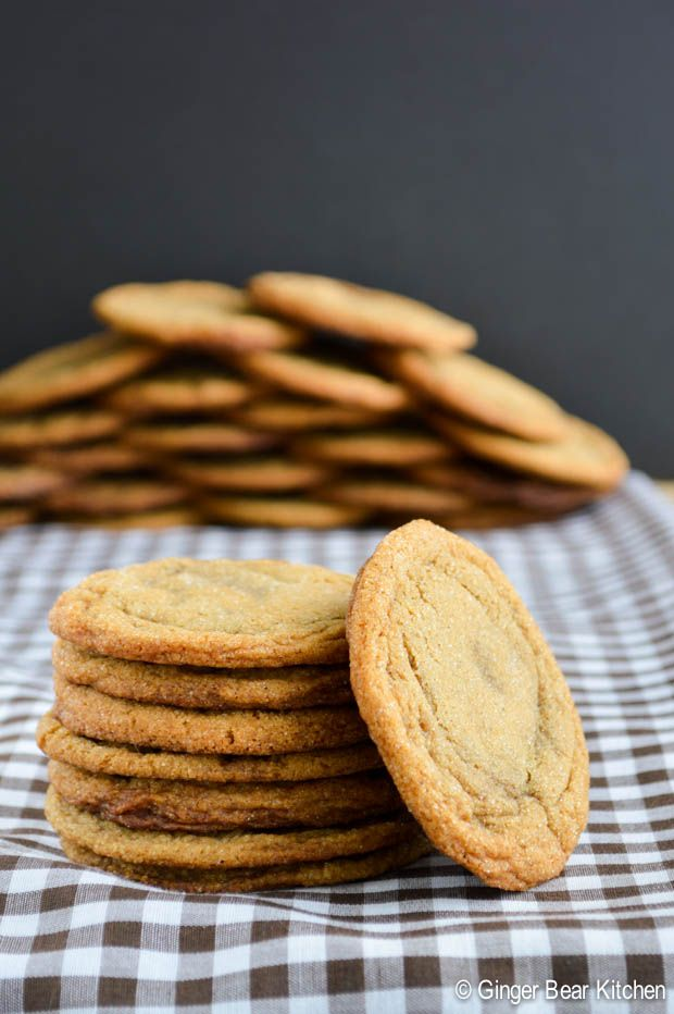 Molasses Cookies | sweets and desserts | Pinterest