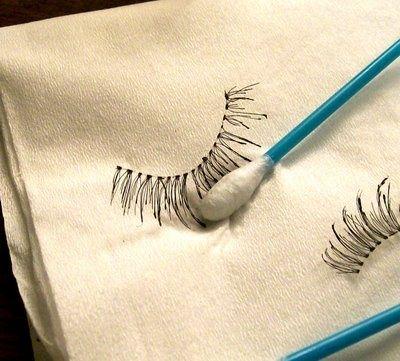 Caring for Your False Eyelashes