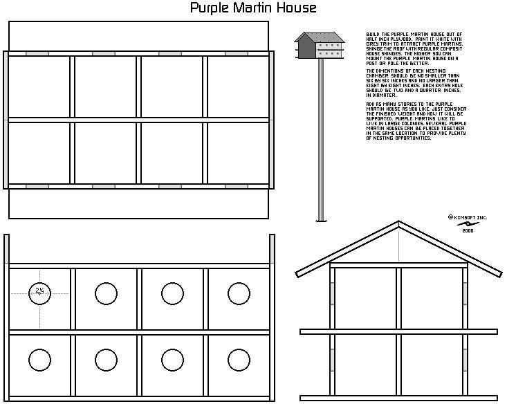 Purple martin bird house plans bird stuff pinterest for Martin house designs