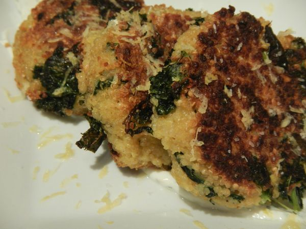 Quinoa and Kale Patties | Nothing Tastes Better than Skinny | Pintere ...