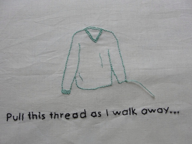 Based on Undone (the Sweater Song) by Weezer.