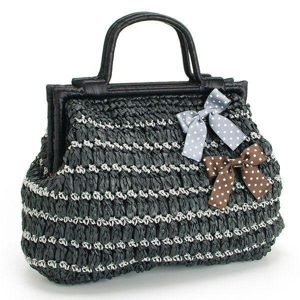 Woolen Crochet Bags : knitted bags