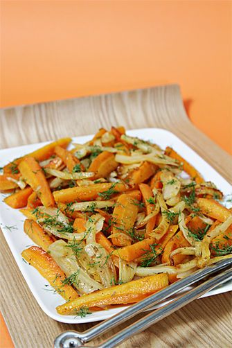 Carrots and Fennel Braised with Orange Zest and Honey | Recipe