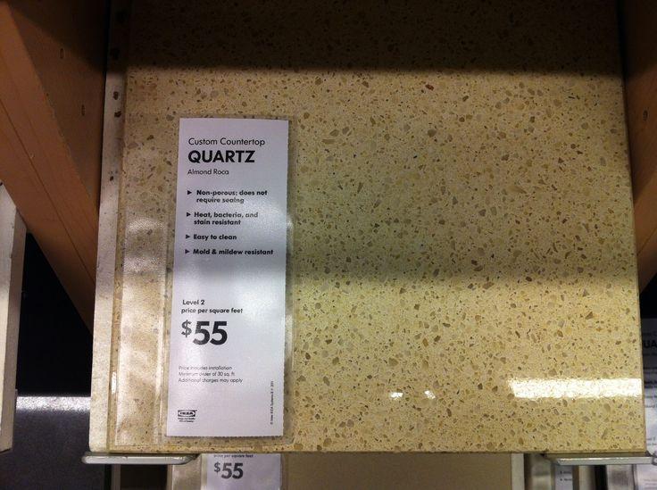 Ikea Quartz Countertop Kitchen Pinterest