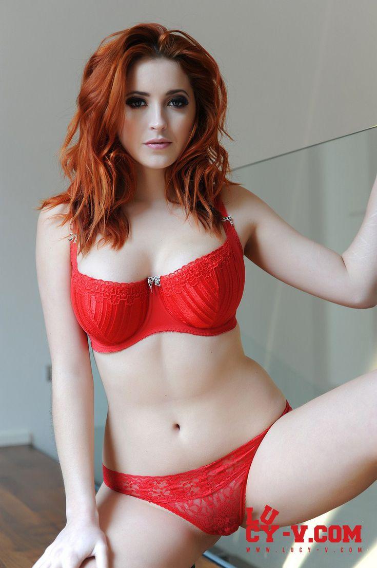 Plump redhead calendar bridgette