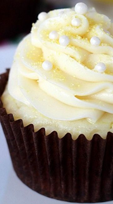 Lemon Cream Cupcakes | Recipe