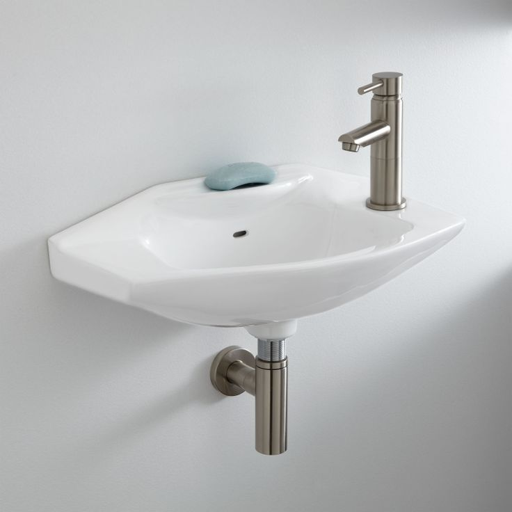 Mini Wall Mount Sink : Leo Wall Mount Sink Bought this for my wee bathroom.