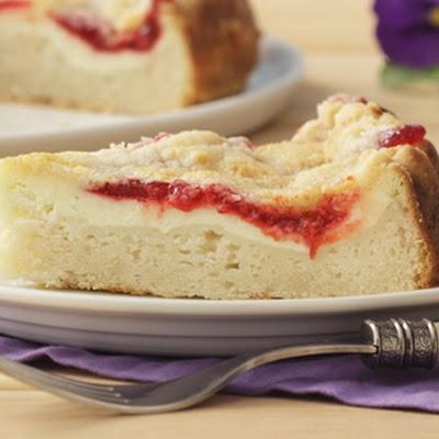 Strawberry Swirl Cheesecake   recipes   Pinterest