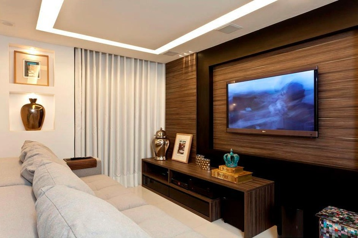 Sala de tv  Ideas casa  Pinterest