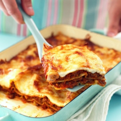 Lasagna Al Forno Looks like a great lasagna recipe.