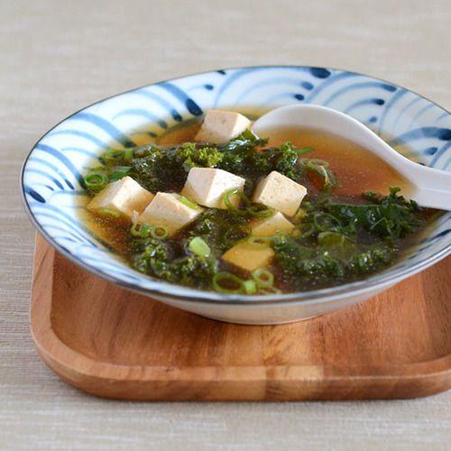 ... tofu salad with miso dressing shallot marinated tofu with miso