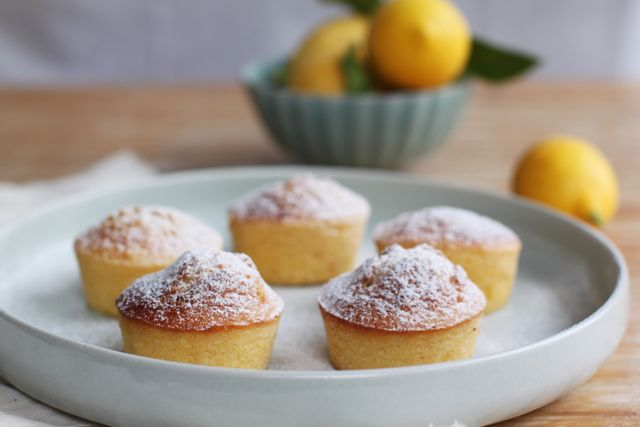 lemon polenta cakes (almond meal, corn starch, olive oil) GF & DF by ...