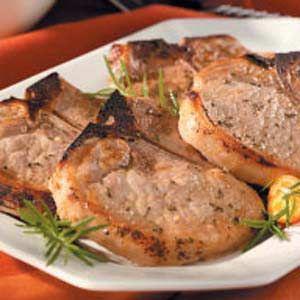 Moist Herbed Pork Chops | Recipe
