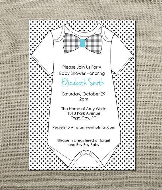 baby shower onesie invitations template - onesie template