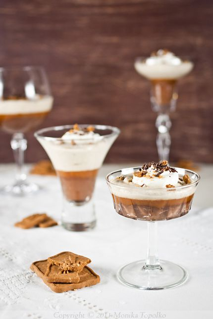 Chocolate, caramel and chestnut verrine | Verrine | Pinterest