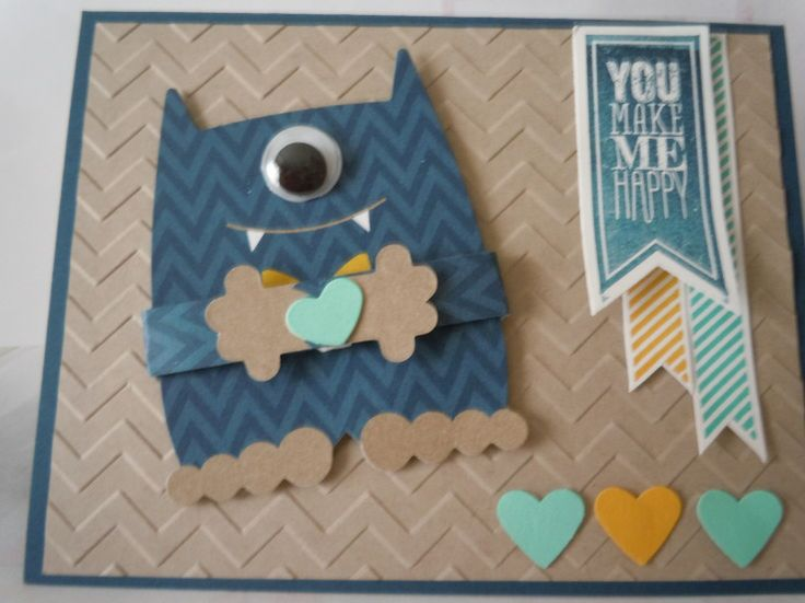 ... Crumb Cake Accessories: Chevron Embossing Folder, Monster Hugs