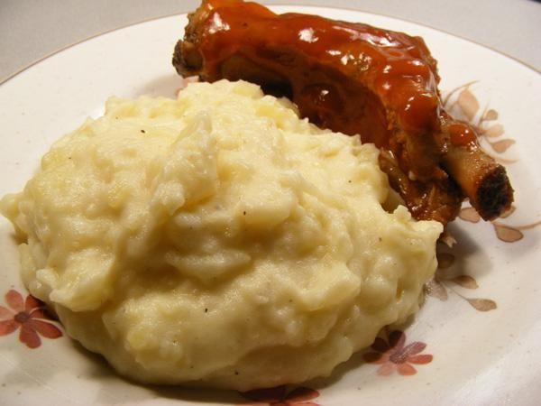 Roasted-Garlic Mashed Potatoes | Side Recipes | Pinterest