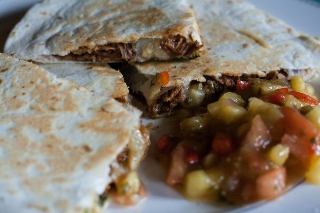 Pulled Pork Quesadillas | dirtylaundrykitchen | Pinterest
