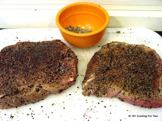 Cowboy Coffee Rubbed Sirloin Steak | Recipe