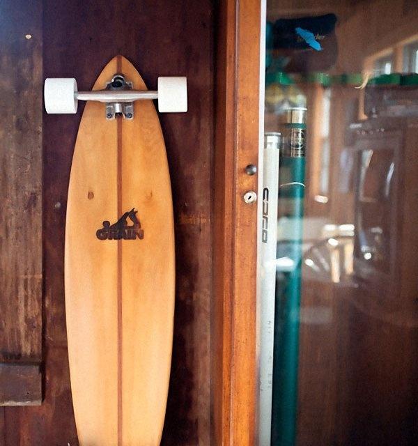 Cider Hill Skateboard x Grain