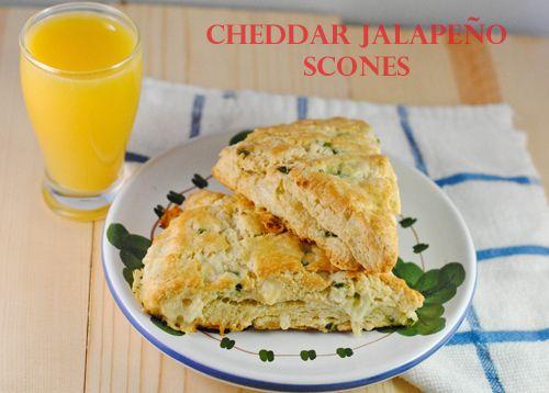 Cheddar Jalapeño Scones | Kailani's Style | Pinterest