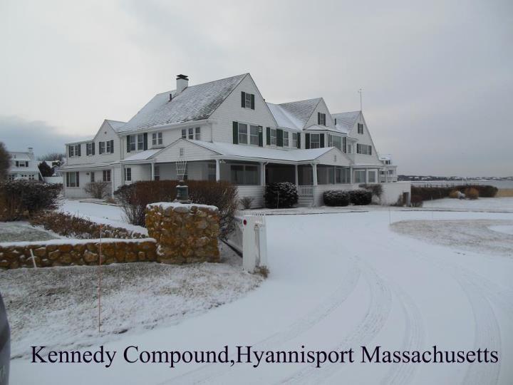 Kennedy Compound Hyannisport New England Home Pinterest