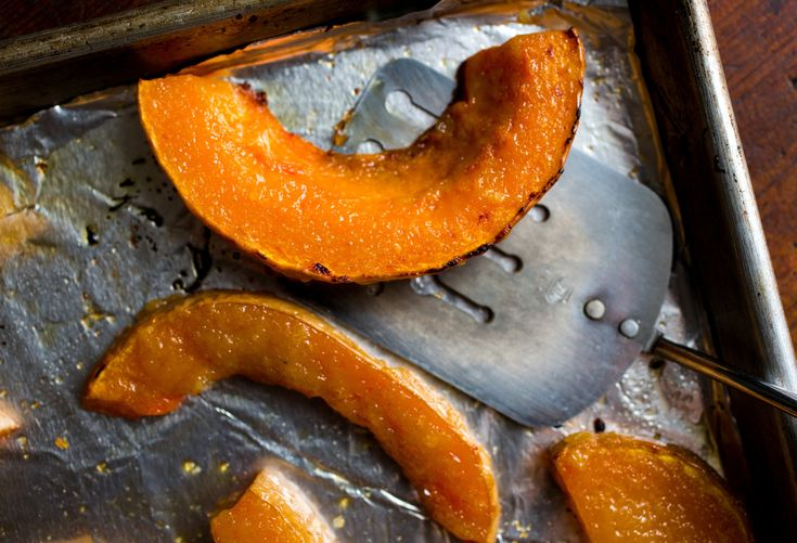 Roasted Winter Squash With Miso Glaze | Yummy healthy food | Pinterest