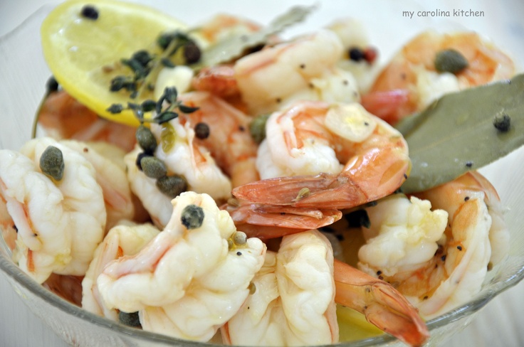 Southern Pickled Shrimp ( Adapted from Coastal Living )