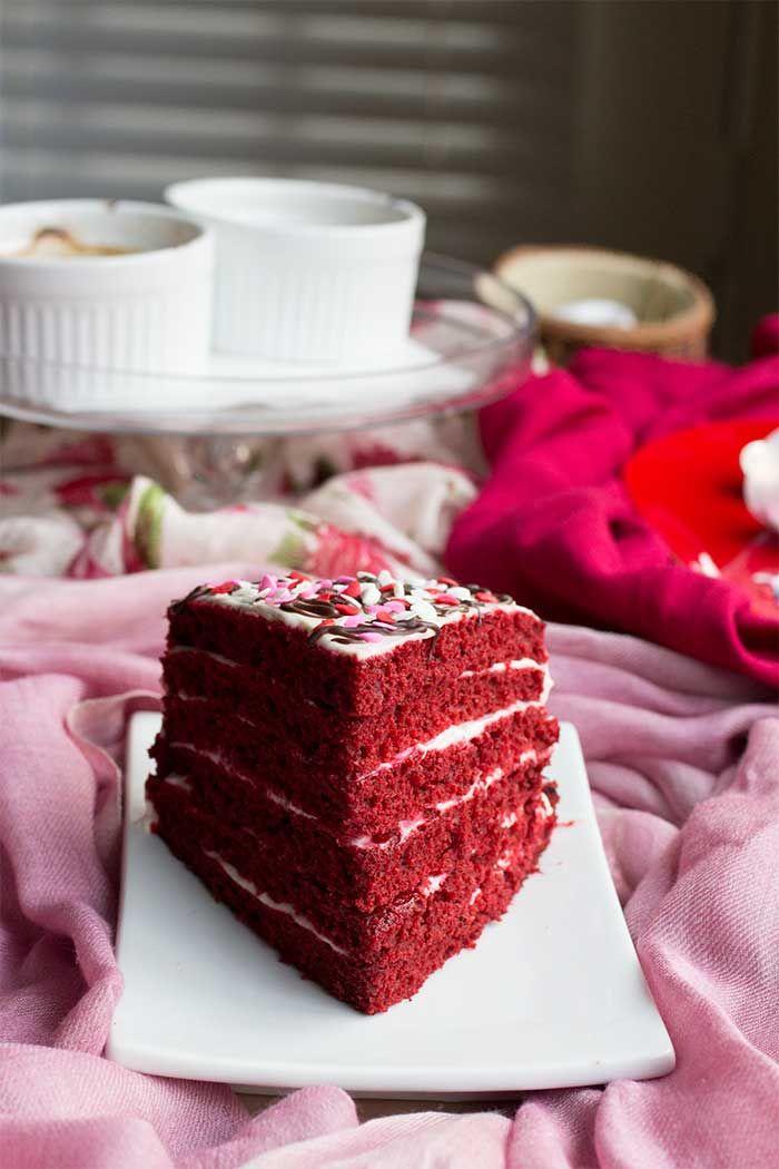 Single Slice: Red Velvet Layer Cake // The Pancake Princess
