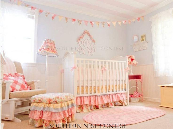 shabby chic nursery kiddos nursery room pinterest. Black Bedroom Furniture Sets. Home Design Ideas