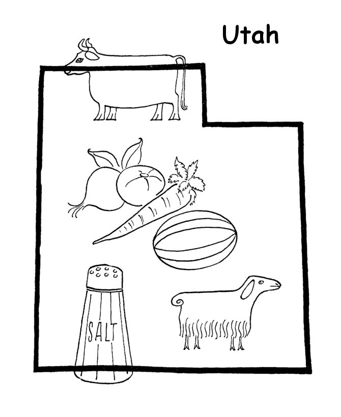 ut coloring pages - photo#7