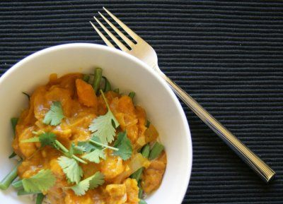 Pumpkin & Shrimp Curry by Emily Dingmann (adapted from L'Etoile)