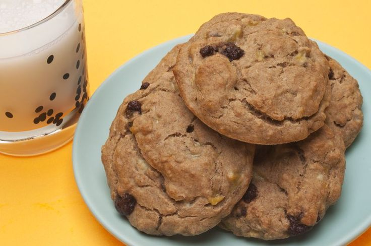 Skinny Banana Chocolate Chip Cookies | Cookies | Pinterest