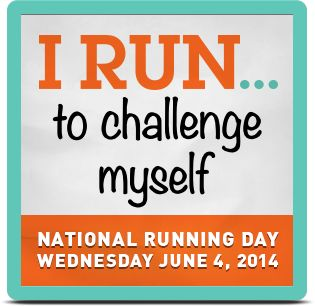 My National Running Day 2014 Badge