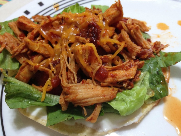 Chicken Tinga....makes a GREAT!!!! Chip dip