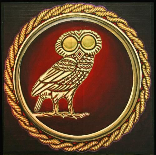 the symbol for athena percy jackson pinterest